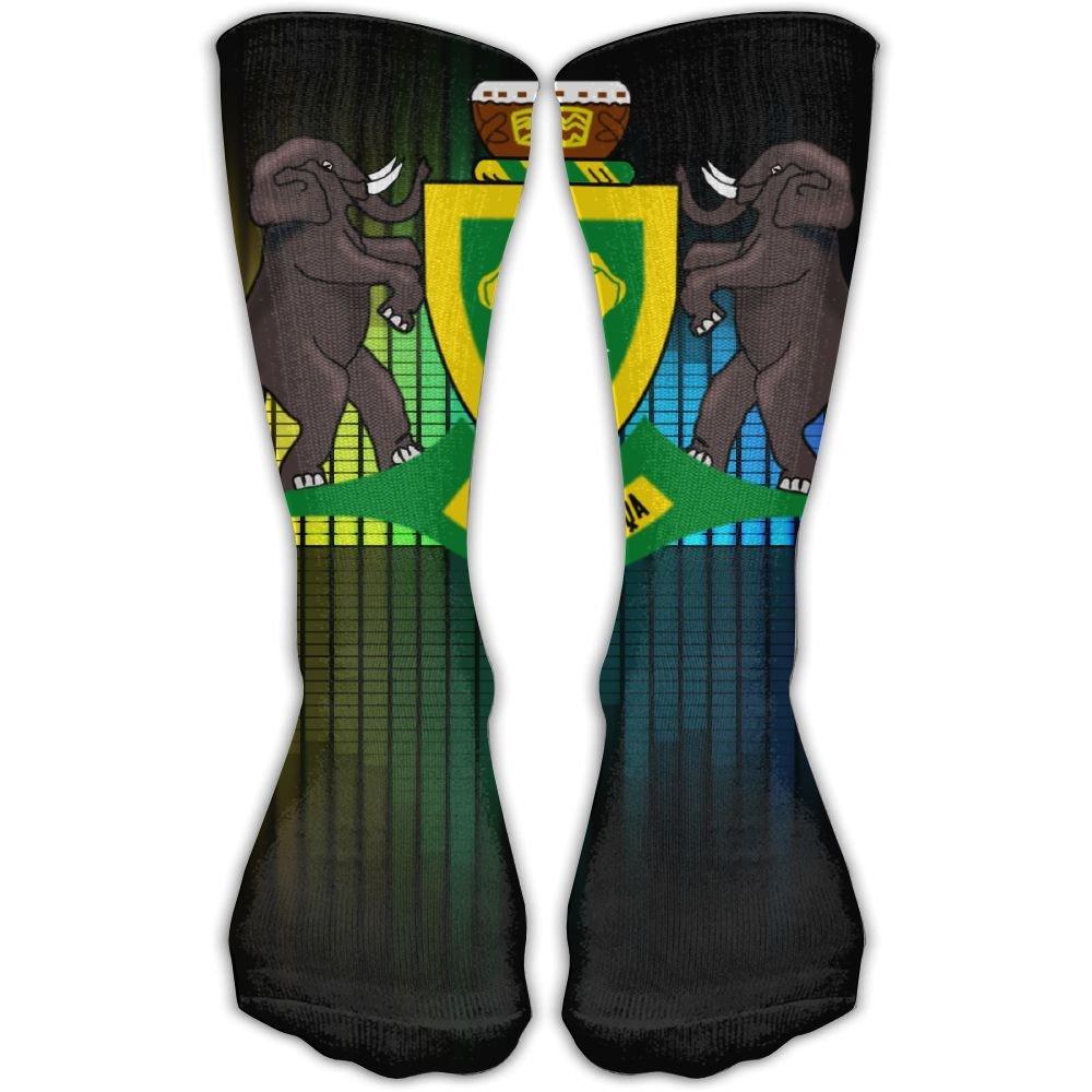Design Coat Of Arms Of The Republic Of Venda Stylish Art Knee High Socks For Women &Girl