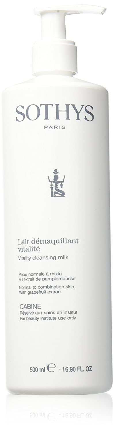 Sothys Vitality Cleansing Milk Professional Size 16.90 oz.