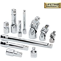 Husky 1/4, 3/8, and 1/2 Inch Drive Master Accessory Set (11-Piece)
