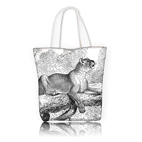 73196a534530 Amazon.com  Reusable Cotton Canvas bag -W21.7 x H14 x D7 INCH ...