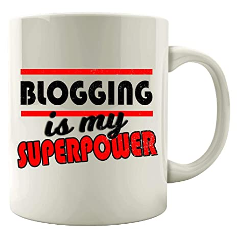 Amazon.com: Blog design - Blogging Is My Superpower - Gifts ...