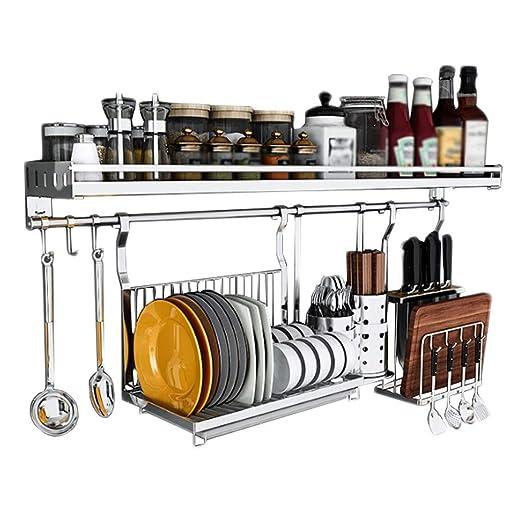 FYJ-Storage Estante de Cocina para condimentos Estantes de Pared ...