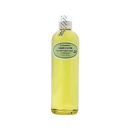 Aceite de transporte orgánico de semillas de Camellia prensado en frío 100% puro 12 oz