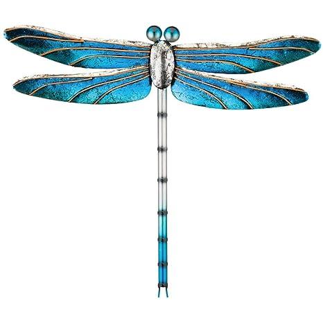 Regal Art Gift 12367 Metallic Dragonfly Decor 15 Blue Wall Decor