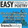 Elle était déchaussée, elle était décoiffée (Easy French Poetry)