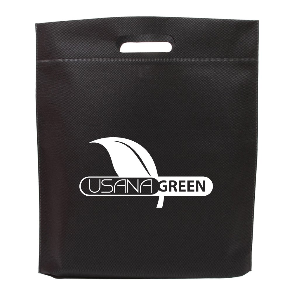 Die Cut Handle Tradeshow Tote - 150 Quantity - $1.60 Each - PROMOTIONAL PRODUCT / BULK / BRANDED with YOUR LOGO / CUSTOMIZED by Sunrise Identity (Image #2)