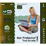 anti virus npav net protector total security 2019 TS Gold Edition 1 pc 1 year