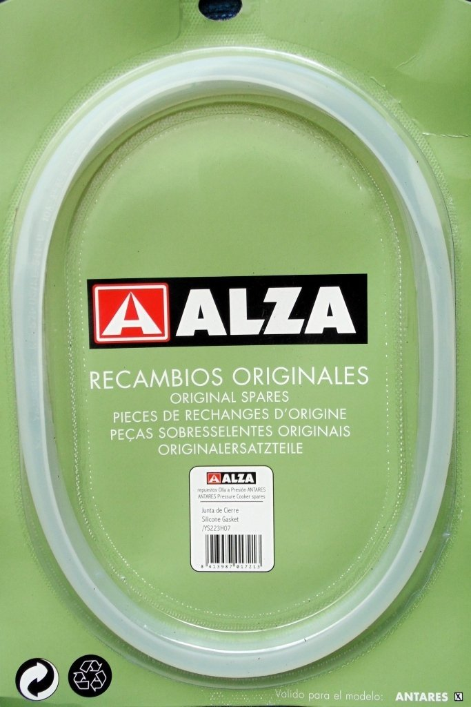 JUNTA DE OLLA SUPER RAPIDA PARA EL MODELO ANTARES DE ALZA: Amazon.es ...