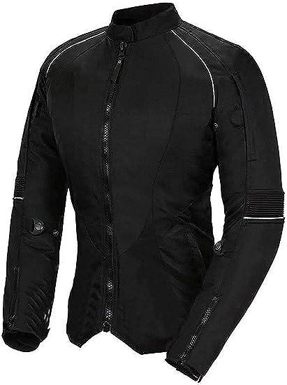 TALLA XL. Newfacelook De las mujeres Señoras Motocicleta Impermeable Protector Chaqueta