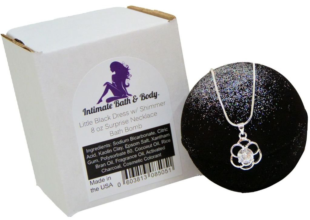 Amazon Bath Bomb With Silver 925 Necklace Surprise Inside