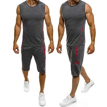 Amazon.com: Dreamyth- Pantalones cortos para hombre, 2 ...