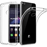 Coque Huawei P8 Lite 2017, EasyAcc Liquid Crystal Clear Premium TPU Transparent Antidérapant Case Pour Huawei P8 Lite 2017 Protection Dorsale Etui Slim Invisible Housse Cover en Gel TPU