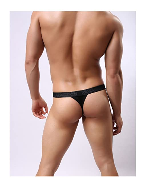 b7705b784dd4 Amazon.com: 2017 Men Sexy Lace Transparent Personal Briefs Bikini G-string  Thong Jocks Tanga Underwear Shorts Exotic T-back Brave Person (M, ...