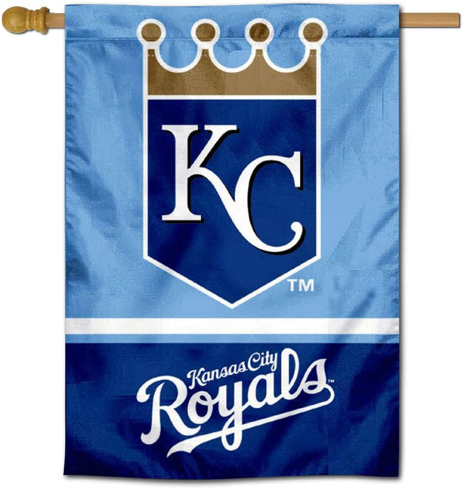 WinCraft KC Royals Two Sided House Flag