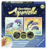 Ravensburger Magic Aquarelle Dolphins - Arts & Crafts Kit