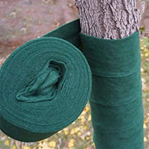 Feitore Tree Wrap, 5-Inch by 66-Foot Breathable Fabric Tree Protector Wrap Thick Winter-Proof Tree Guards for Warm Keeping and Moisturizing