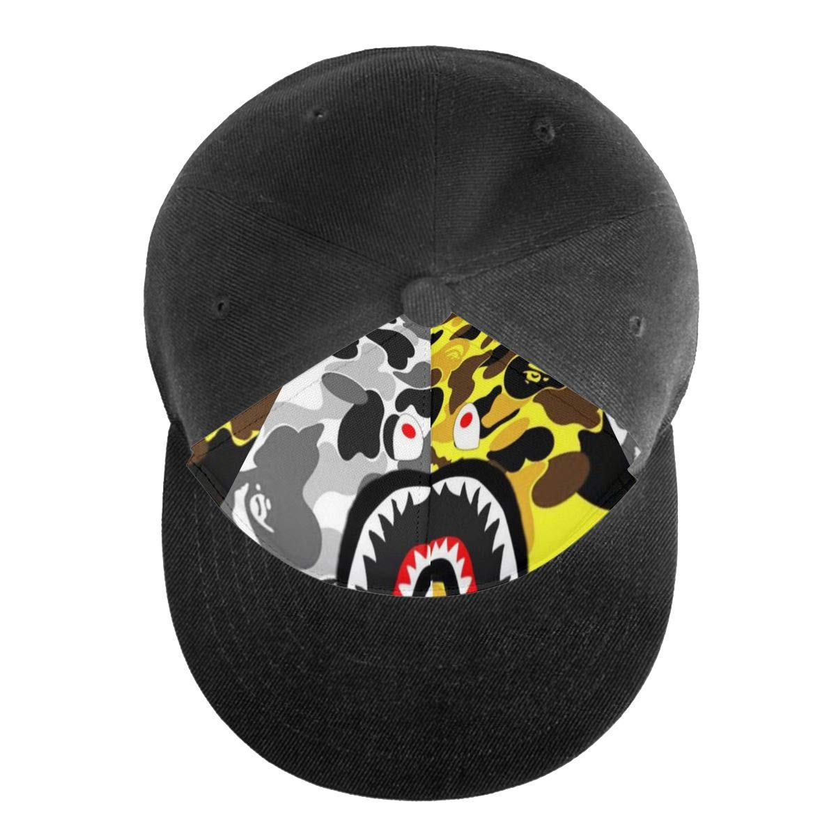 Bape-Shark Hat Cap Men Women Plain Hat Snapback Hat Mom Dad Hat