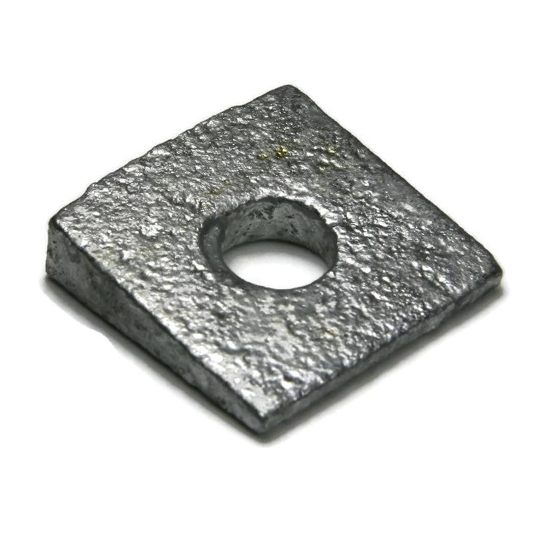 Beveled Square Washers Hot Dipped Galvanized 3//4 Qty-25
