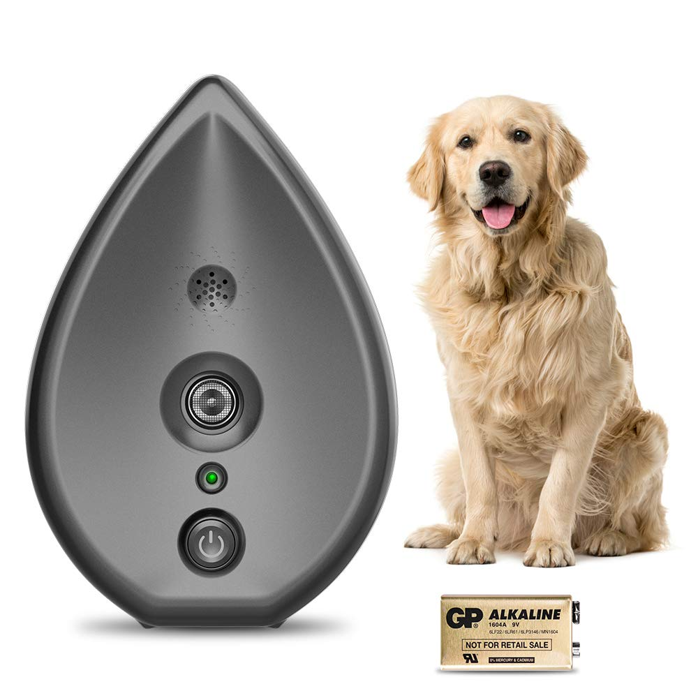 Anti Barking Device, Bark Control Device with 4 Adjustable Ultrasonic Volume Levels, Automatic Ultrasonic Dog Bark Deterrent Indoor Bark Box 100% Safe, Battery and Hanging Rope Included. by Modus