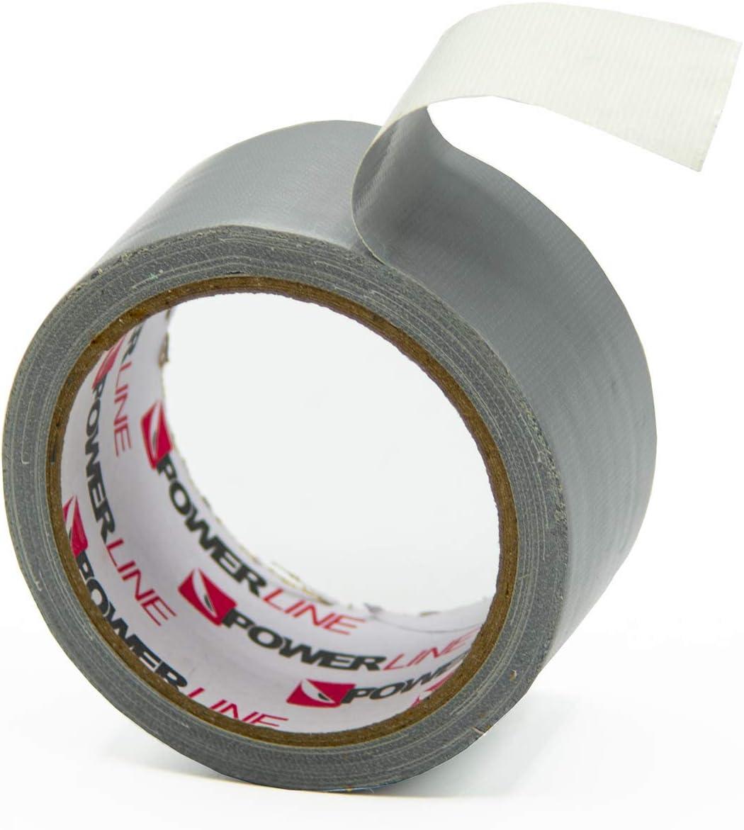 Reparaturband Cloth Tape 1 Rolle Power-Line Gewebeband 10m x 48mm Panzerband Gewebeklebeband Ducttape Steinband
