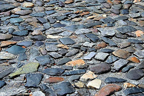 Photography Poster - Cobble Stone, Background, Backdrop, 24