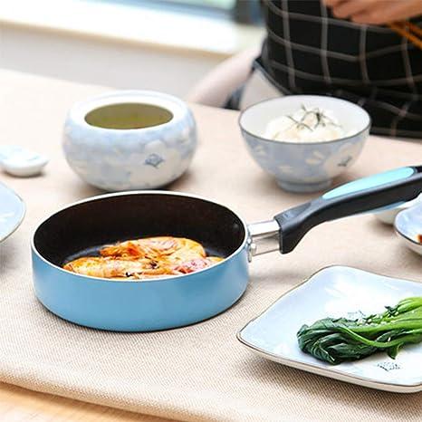 Sartén Omelette sartenes antiadherente revestimiento de aleación de ...