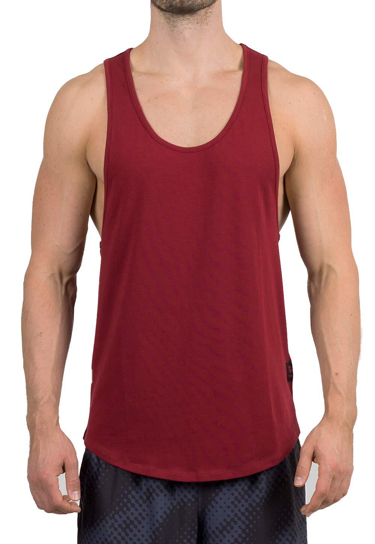 GYMJUNKY Signature Tank Top - Tank Top Herren - Tank fü r Sport Gym Training & Bodybuilding - Tanktop - Sportshirt - Unterhemd - ä rmelloses Traningsshirt