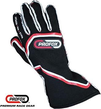 SFI Approved 3.3//5 Fire Retardant Black Kids STR Edition 4 Race Gloves
