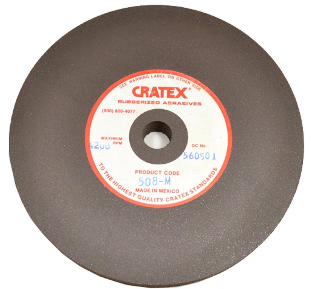 Cratex #304C Rubberized Abrasive Wheels 3X1/4X1/4 Coarse Grobet File Co. Of America LLC. 10.913