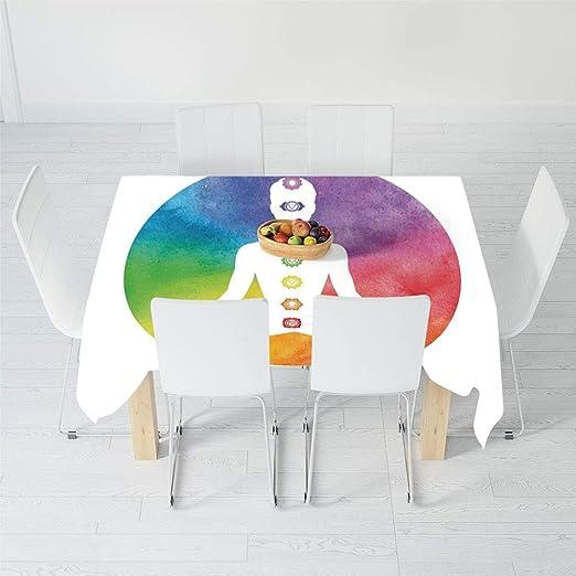 TecBillion - Mantel a Prueba de Polvo, Yoga, para decoración ...
