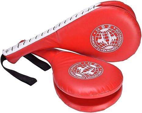 lahomie 2 Pack Taekwondo Kick Target Pads TKD Doble Kicking Pad Karate Kickboxing Punch Pads Artes Marciales Entrenamiento Práctico Equipamiento Deportivo: Amazon.es: Deportes y aire libre
