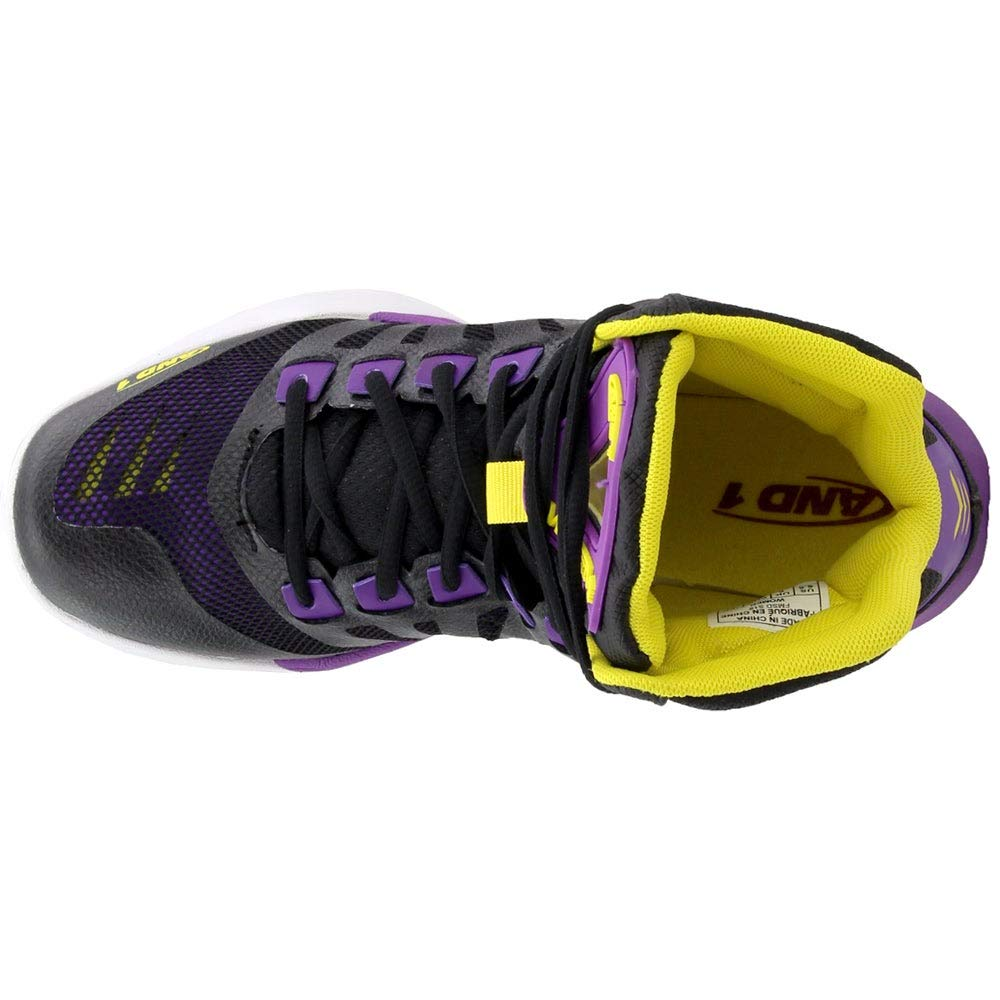 AND1 Womens Overdrive Basketball Athletic Shoes,