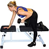 Fitness Weight Bench, Multi-purpose Folding Adjustable Dumbbell Stool FCH Home Commercial Utility Flat /Incline Foldable Seat Bench Lifting Training Abdominal Exercise