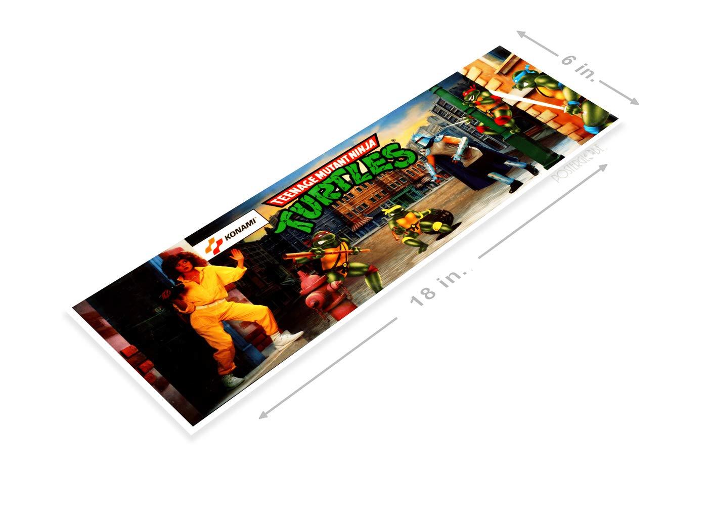 Amazon.com: PosterGlobe Poster A524 Ninja Turtles Arcade ...