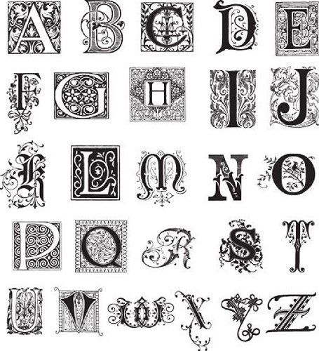 - See D's Eclectic Alphabet 26 Ornate Rubber Stamps and Case # 50197 Inque Boutique Sugarloaf
