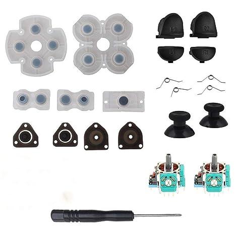 L1 R1 L2 R2 Botones de gatillo 3D Analógico Palillos Pulgar Palillos ...