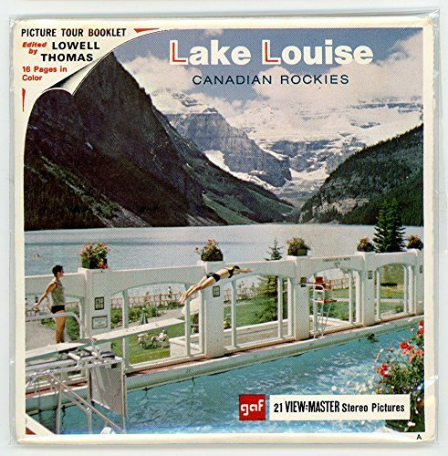 Classic ViewMaster- Lake Louise - ViewMaster Reels 3D- unsold store Stock- Never opened by 3Dstereo ViewMaster by ViewMaster (Image #1)