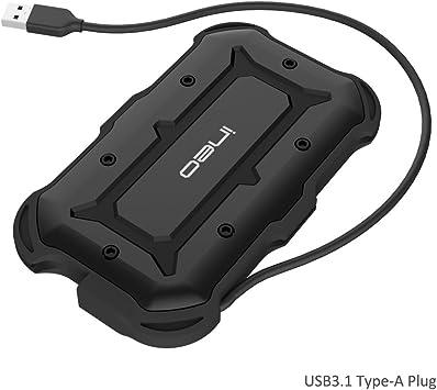 USB 3.1 Type-A to SATA III Carcasa para disco duro 2.5 inch ...