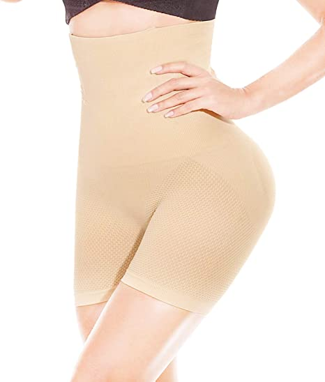 HONFAY Mujer Fajas Reductoras Body Shaper Bragas Cintura Alta ...
