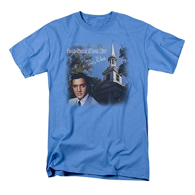 ad87610dfff Image Unavailable. Image not available for. Color  Elvis Presley How Great  Thou Art T Shirt Size S