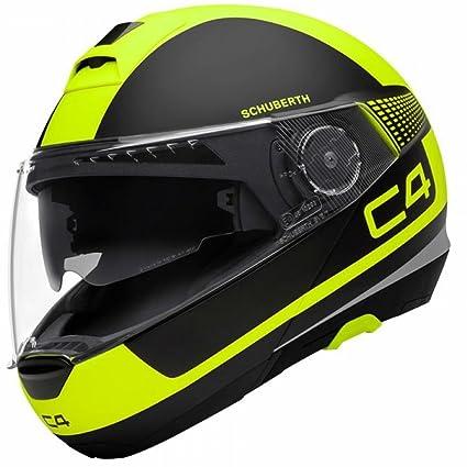 Amazon.es: SCHUBERTH C4 Legacy Amarillo Motocicleta Casco