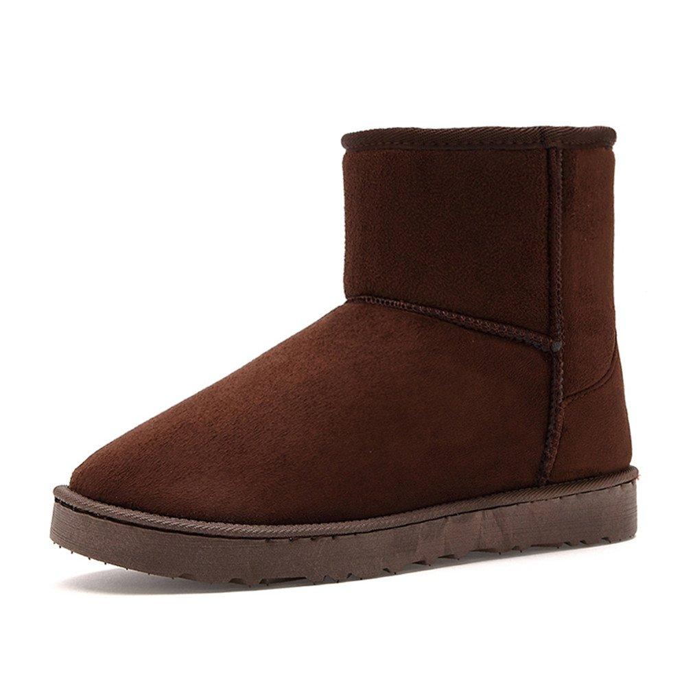Unisex Winter Schnee Stiefel Ankle Gummistiefel Mode Winter Schuhe hei se 9.5 ThhVB1EWVv