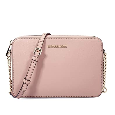 70aeb0855aa578 Amazon.com: Michael Michael Kors Jet Set Travel Large East/West Leather  Crossbody: Clothing
