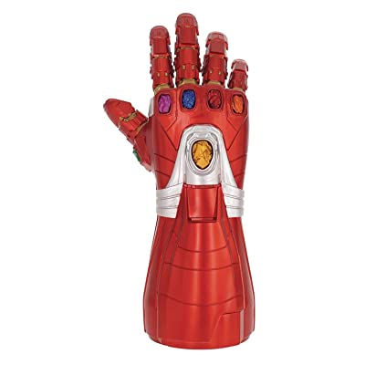 Monogram Avengers Endgame: Iron Man Nano Gauntlet Coin Bank: Toys & Games