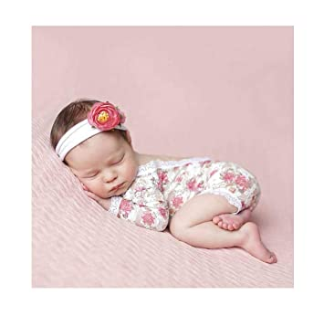 Amazon.com: Giggle Angel - Body para bebé con encaje floral ...