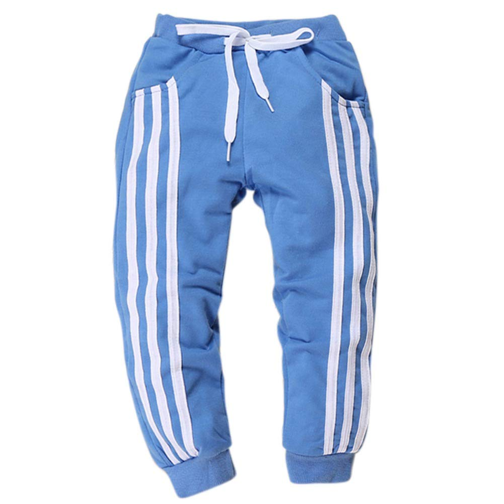 Urmagic Baby Kids Boy Long Sports Trousers Elasitc Waist Warm Sweatpant Jogging Bottoms