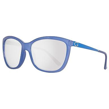 7348b30a15 Amazon.com  GUESS Women s Acetate Square Soft Cat-Eye Sunglasses ...