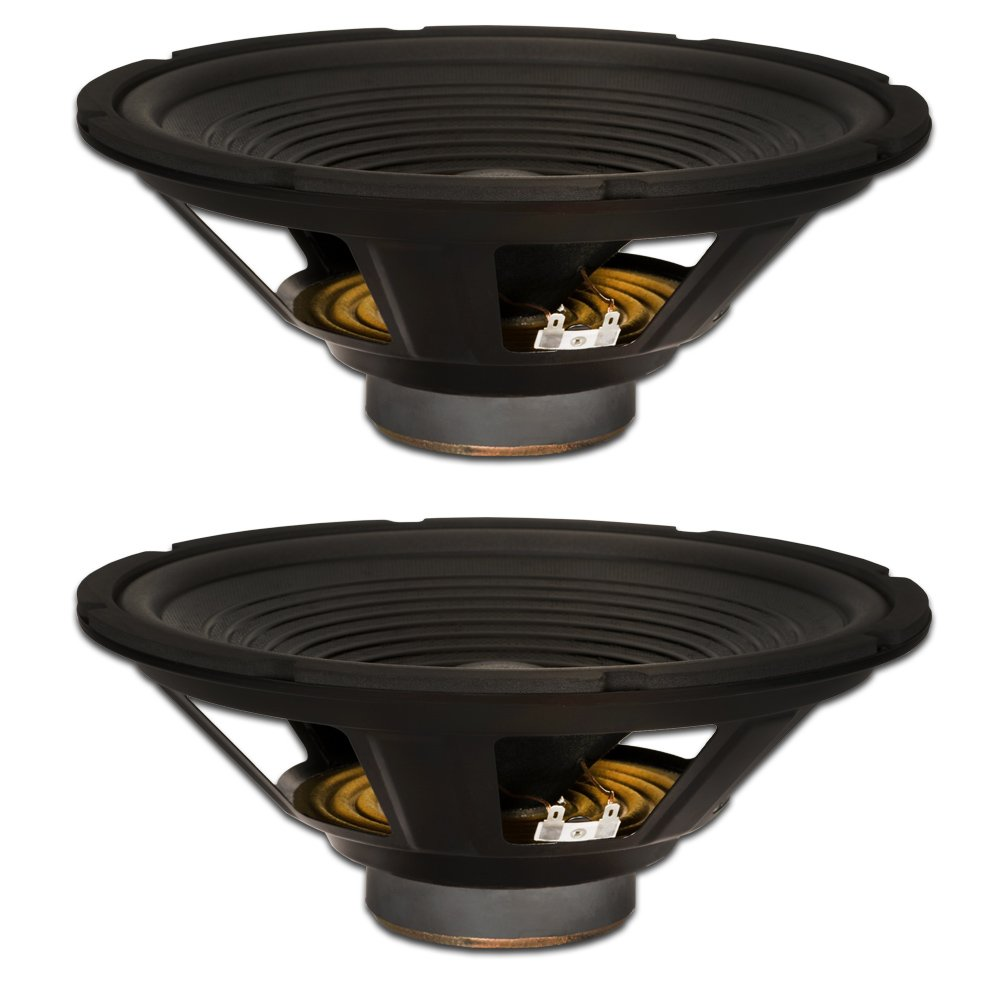 Goldwood Sound, Inc. Stage Subwoofer, OEM 12 Woofers 240 Watts Each 4ohm Replacement 2 Speaker Set (GW-212/4-2)