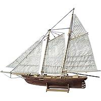 Homyl Modelo Velero Barco Vela de Madera Juguete