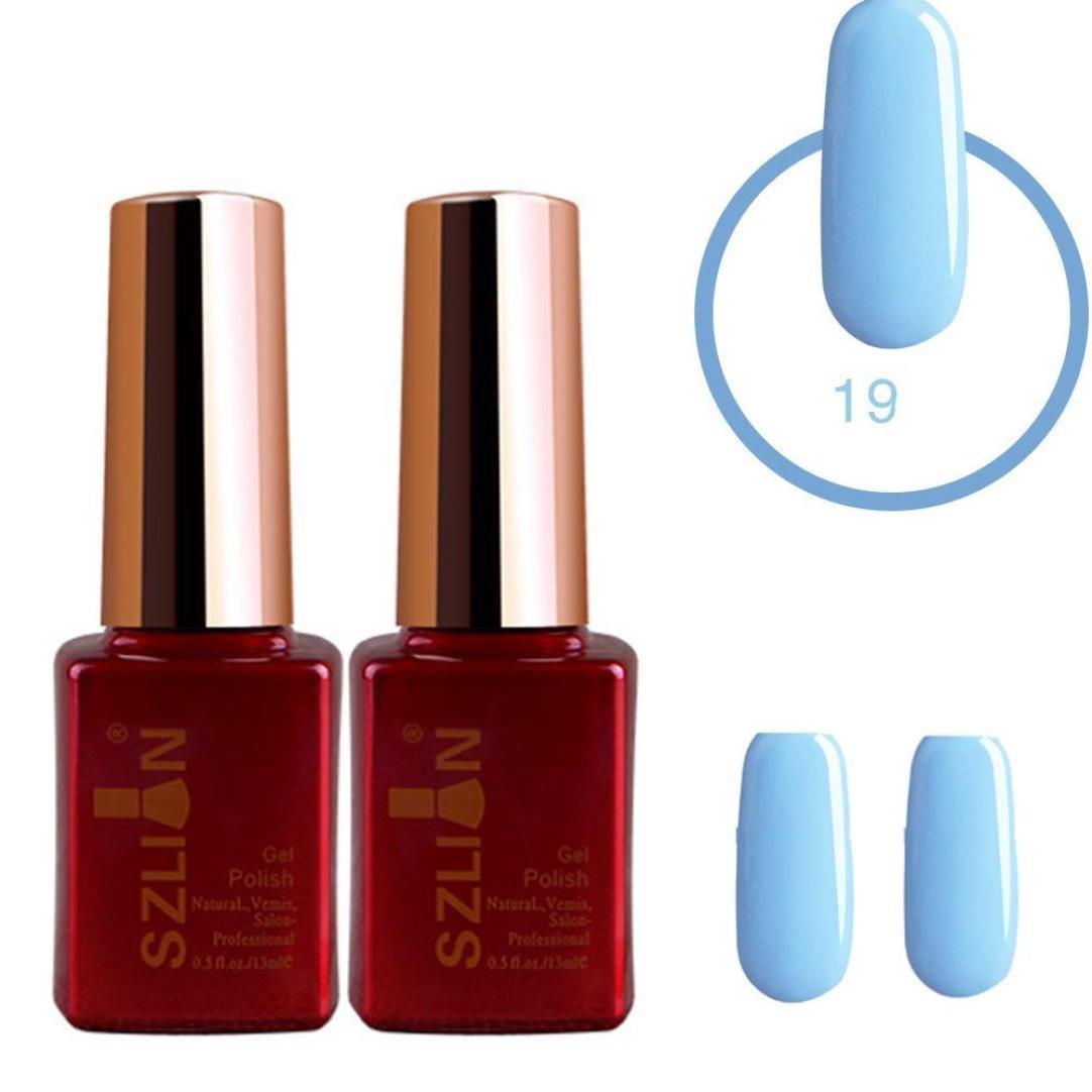 Amazon.com : Huphoon Nail Art Supply Elegant Fast Dry Long Lasting ...